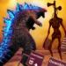 Monster Smash City Kaiju vs Siren Head  1.1.9 (Mod)