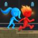 Water & Fire Stickman 3D  2.0.1 (Mod)