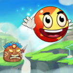 Ball's Journey 6 – Red Bounce Ball Heroes  (Mod)