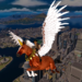 Flying Horse Taxi City Transport: Horse Games 2021  (Mod)