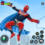 Flying Robot Hero – Crime City Rescue Robot Games  (Mod)