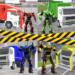 Garbage Truck Driving: Transformer Robot Cleaner  (Mod)