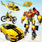 Grand Robot Car Transform 3D Game  (Mod)