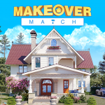 Makeover Match: Home Design & Happy Match Tile  (Mod)