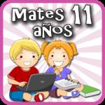 Matemáticas 11 años  (Mod)
