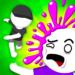 Pogo Paint: 1v1 Ball Throw Sports Game  (Mod)