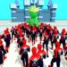 Superhero Crowd Pusher – Crowd City 3D  (Mod)