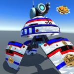 US Police Robot Shooting Crime City Game  (Mod)
