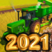 Village Tractor Drive 2021-Farm Offroad Sim Games  (Mod)