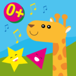 Animals first words, game for toddlers from 1 year  (Mod)