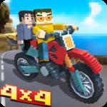 Blocky Moto Bike SIM: Winter Breeze  (Mod)