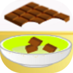 Cake flavored with chocolate  (Mod)