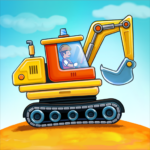 Car games for kids: building and hill racing  (Mod)