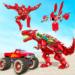 Dino Robot Car Game – Monster Truck Robot games  (Mod)