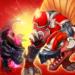 Dino War Spino VS Dark T-Rex  (Mod)