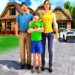 Happy Family Life Dad Mom – Virtual Housewife Care  (Mod)