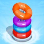 Hoop Sort Stack Puzzle – Color Sort – Stack Sort  (Mod)
