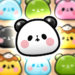 Match 3 Puzzle Tours : MOCHI MOCHI PANDA  (Mod)