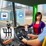 Modern Bus Simulator City Drive – Bus Parking Game  (Mod)