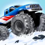 Monster Stunts — monster truck stunt racing game  (Mod)
