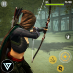 Ninja Archer Assassin FPS Shooter: 3D Offline Game  (Mod)