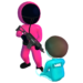 Pink Game Squid, Fish Game  1.0.9 (Mod)