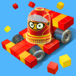 Pixel Car Racer – Real Voxel & Blocky Cars Racing  (Mod)