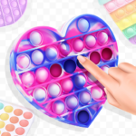 Pop it master. Antistress fidget toys  (Mod)