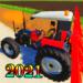 Village Land Modern Tractor And Bull Farm  (Mod)