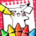 poke coloring pika cartoon game  (Mod)